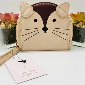 NEW! LAUREN CONRAD Fox Coin Pouch with Wristlet